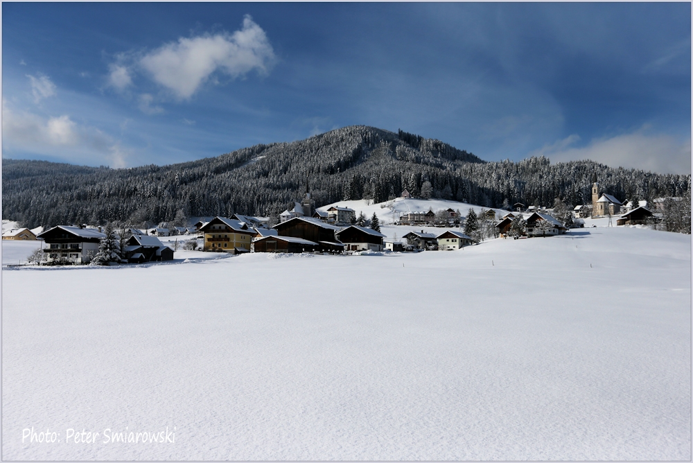 Gossau in Winter